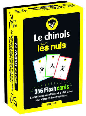 Le chinois pour les nuls : 356 flashcards