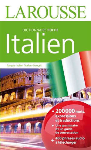Italien : français-italien, italien-français : dictionnaire de poche