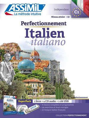 Perfectionnement italien : super pack