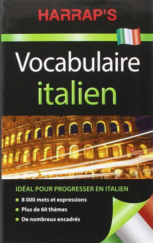 Harrap's vocabulaire italien