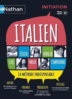 Italien : coffret initiation : la méthode indispensable