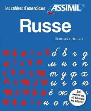 Coffret russe : exercices et écriture