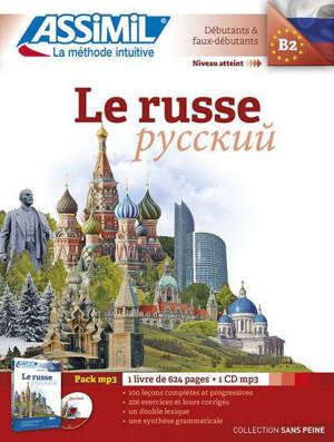 Le russe : débutants & faux débutants, niveau atteint B2 : pack MP3