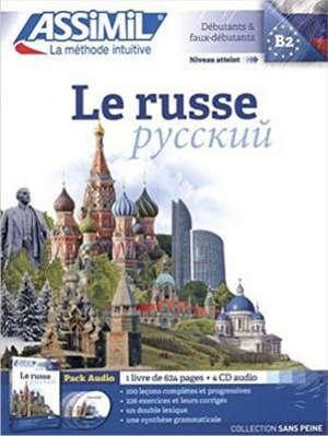 Le russe : débutants & faux débutants, niveau atteint B2 : pack audio