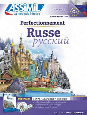Perfectionnement russe : indépendant, niveau atteint C1 : super pack