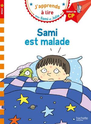 Sami est malade : niveau 1, début de CP