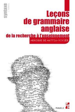 Leçons de grammaire anglaise, De la recherche à l'enseignement
