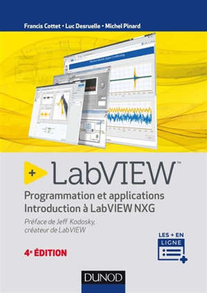 LabVIEW : programmation et applications : introduction à LabVIEW NXG