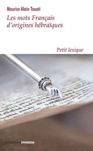 Les mots français d'origines hébraïques : petit lexique