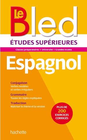 Espagnol : CPGE, université, grandes écoles
