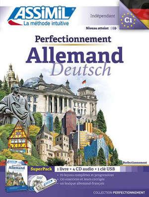 Perfectionnement allemand : indépendant, niveau atteint C1 : super pack