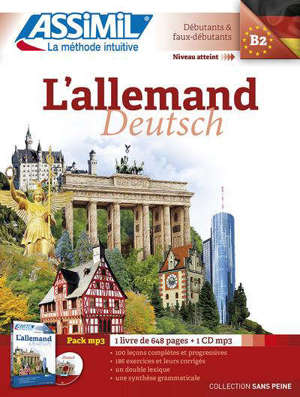 L'allemand, B2 : débutants & faux débutants = Deutsch, B2 : pack MP3