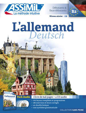 L'allemand, B2 : débutants & faux débutants = Deutsch, B2 : pack audio