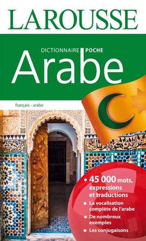 Arabe, dictionnaire poche : français-arabe