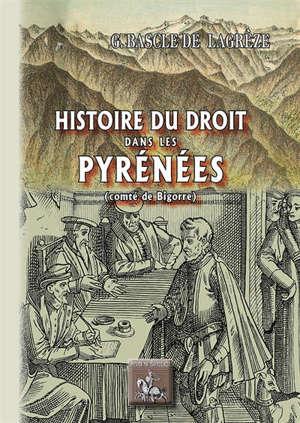 Histoire du droit dans les Pyrénées : comté de Bigorre