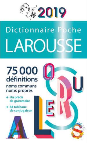 Dictionnaire Larousse poche 2019