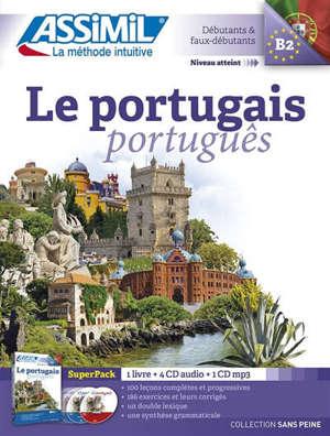 Le portugais : débutants & faux débutants, B2 : super pack = Português
