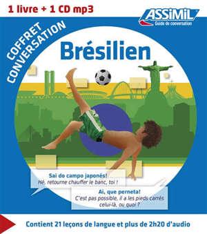 Coffret conversation brésilien : 1 livre + 1 CD MP3