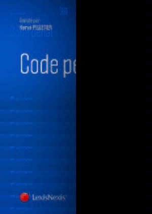 Code pénal 2019