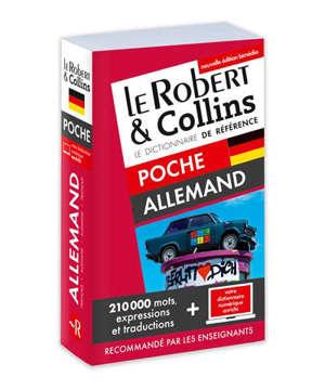 Le Robert & Collins allemand poche : français-allemand, allemand-français