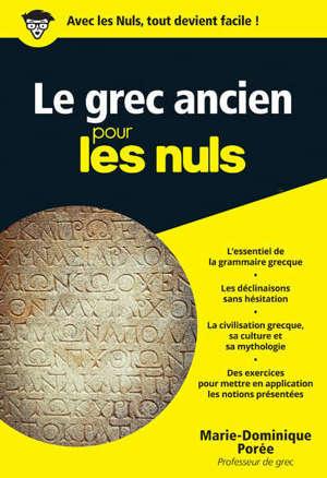 Le grec ancien pour les nuls
