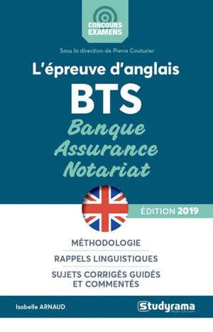 L'épreuve d'anglais : BTS banque, assurance, notariat