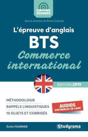 L'épreuve d'anglais : BTS commerce international