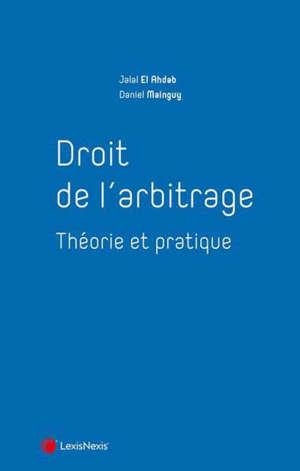 Droit français de l'arbitrage