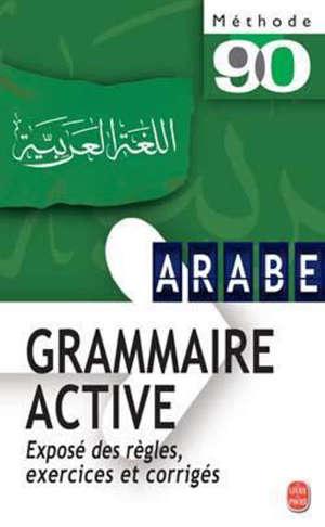 Arabe littéral, grammaire active