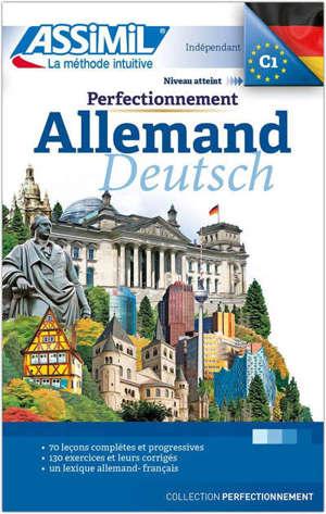 Perfectionnement allemand : indépendant : niveau atteint C1