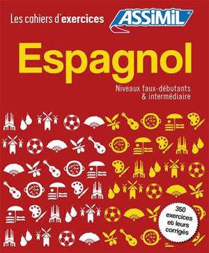 Coffret espagnol : niveaux faux-débutants & intermédiaire