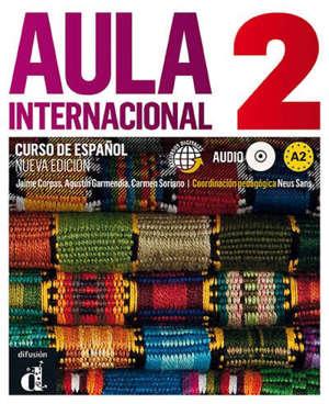 Aula internacional 2 : curso de espanol, A2 : recursos digitales + audio