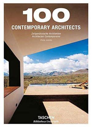 100 contemporary architects = 100 zeitgenossische Architekten = 100 architectes contemporains