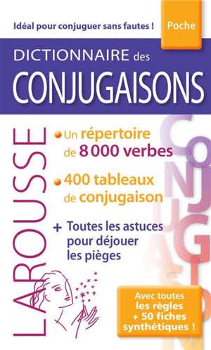 Dictionnaire poche des conjugaisons