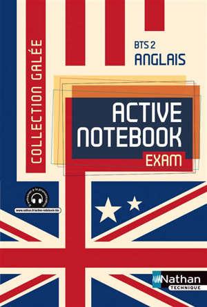 Active notebook, exam, BTS 2e année B2 : élève 2014