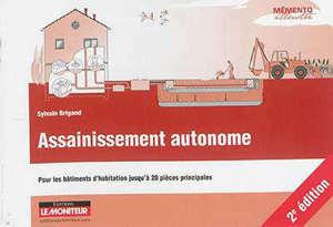 Assainissement autonome : pour les bâtiments d'habitation jusqu'à 20 pièces principales