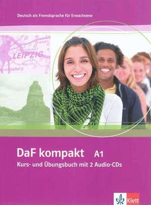 Daf Kompakt A1 : Deutsch als Fremdsprache : Kurs- und Übungsbuch für Erwachsene