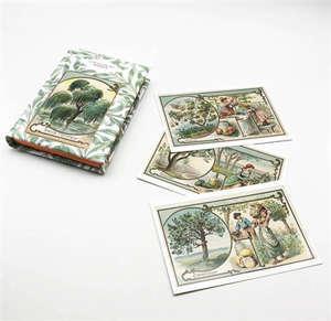 Le petit livre des arbres + cartes postales