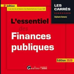 L'essentiel des finances publiques 2020