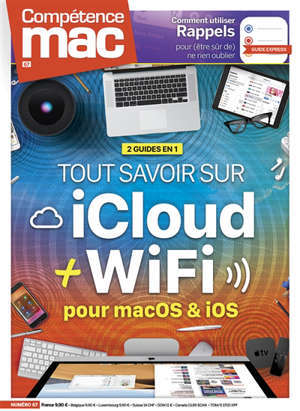 Compétence Mac. n° 67, Tout savoir sur iCloud + WiFi : pour macOS & iOS