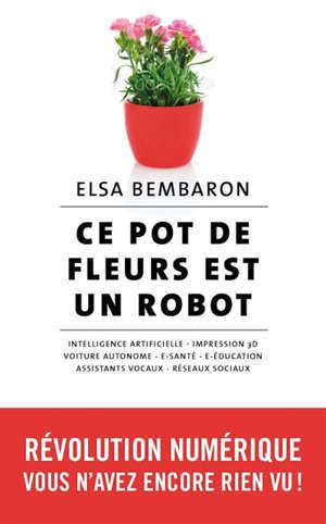 Ce pot de fleurs est un robot