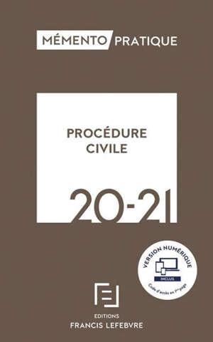 Procédure civile : 2020-2021