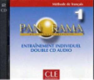 Panorama de la langue française, niveau 1 : méthode de français : 1 double CD audio