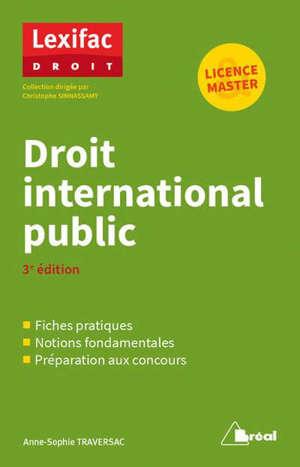 Droit international public : licence, master : en fiches pratiques