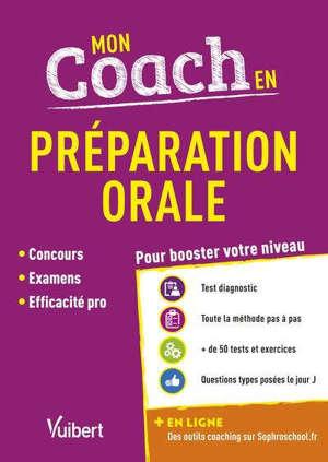Mon coach en préparation orale