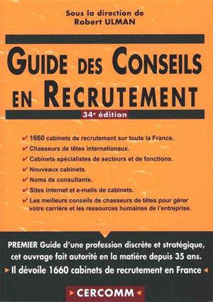 Guide des conseils en recrutement