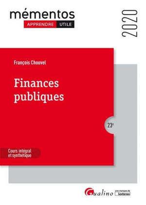 Finances publiques 2020
