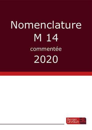 Nomenclature M14 commentée : 2020