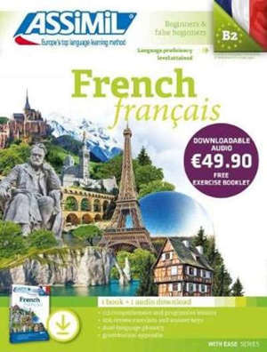 French : language proficiency level attained B2, beginners & false beginners : pack MP3
