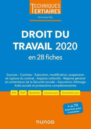 Droit du travail 2020 : en 28 fiches